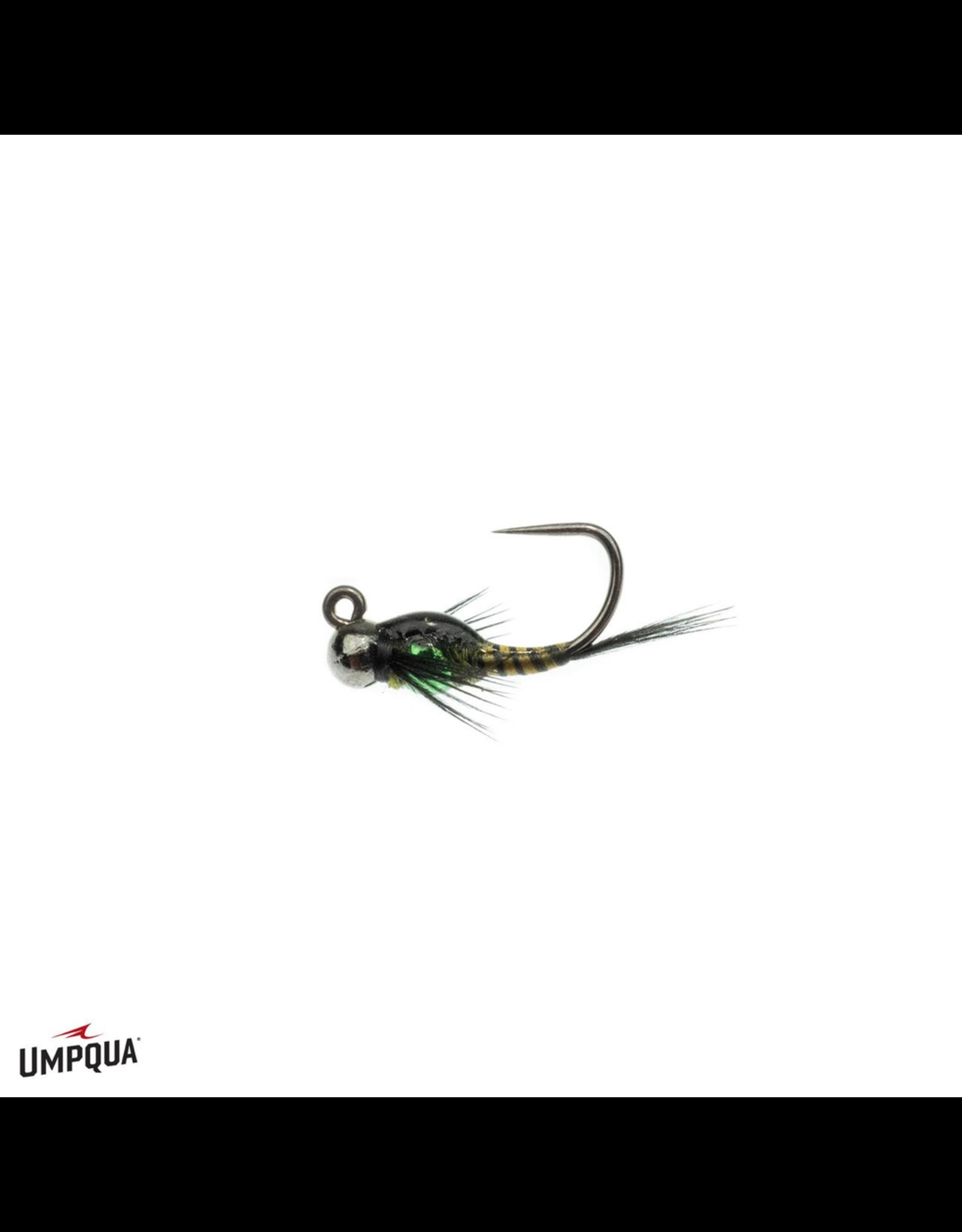 Umpqua Two Bit Hooker Jigged Olive (3 Pack)