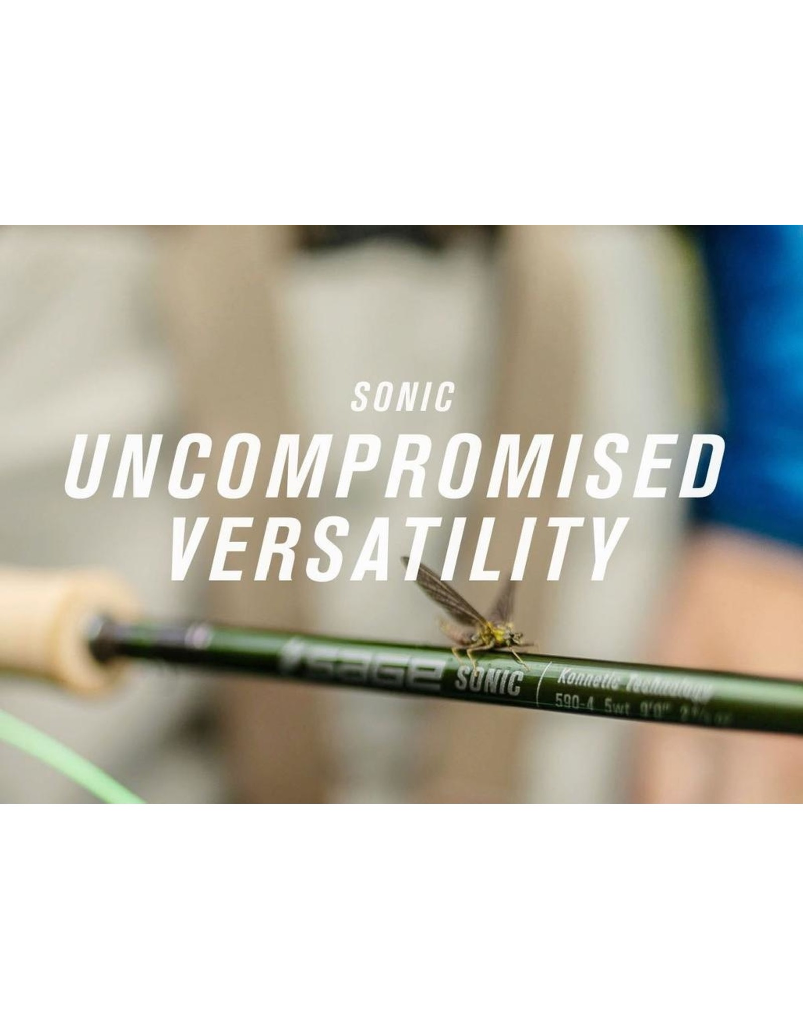 SAGE Sonic 9' 5wt Fly Rod (4pc)