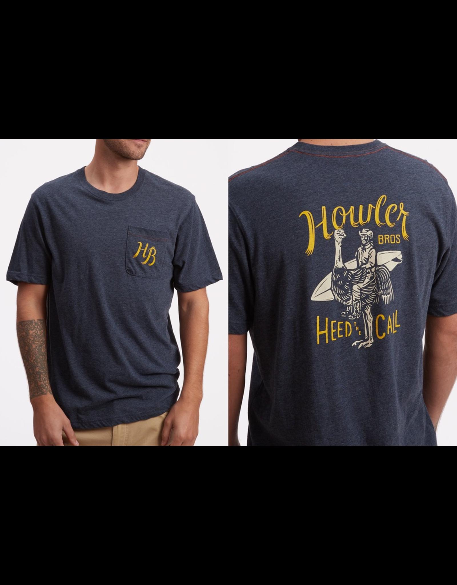 Howler Howler Rodeo Ostrich Pocket T-Shirt  (Size XXL)