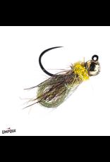 Jiggy Caddis Pupa Olive 16 (3 Pack)