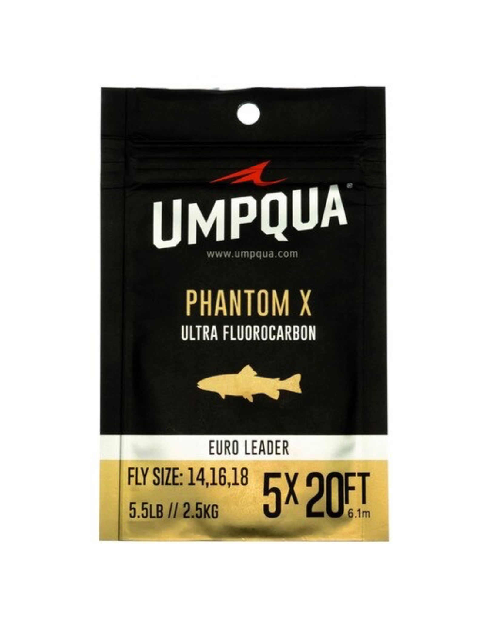 Umpqua Umpqua Phantom X Euro Nymph Leader (20')