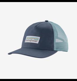 Patagonia Patagonia W's Pastel P6 Label Layback Trucker Hat Dolomite Blue