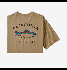 Patagonia Patagonia Men's Framed Fitz Roy Trout Organic Cotton T Shirt