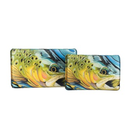 New Phase Trout Pattern Lycra EVA box standard