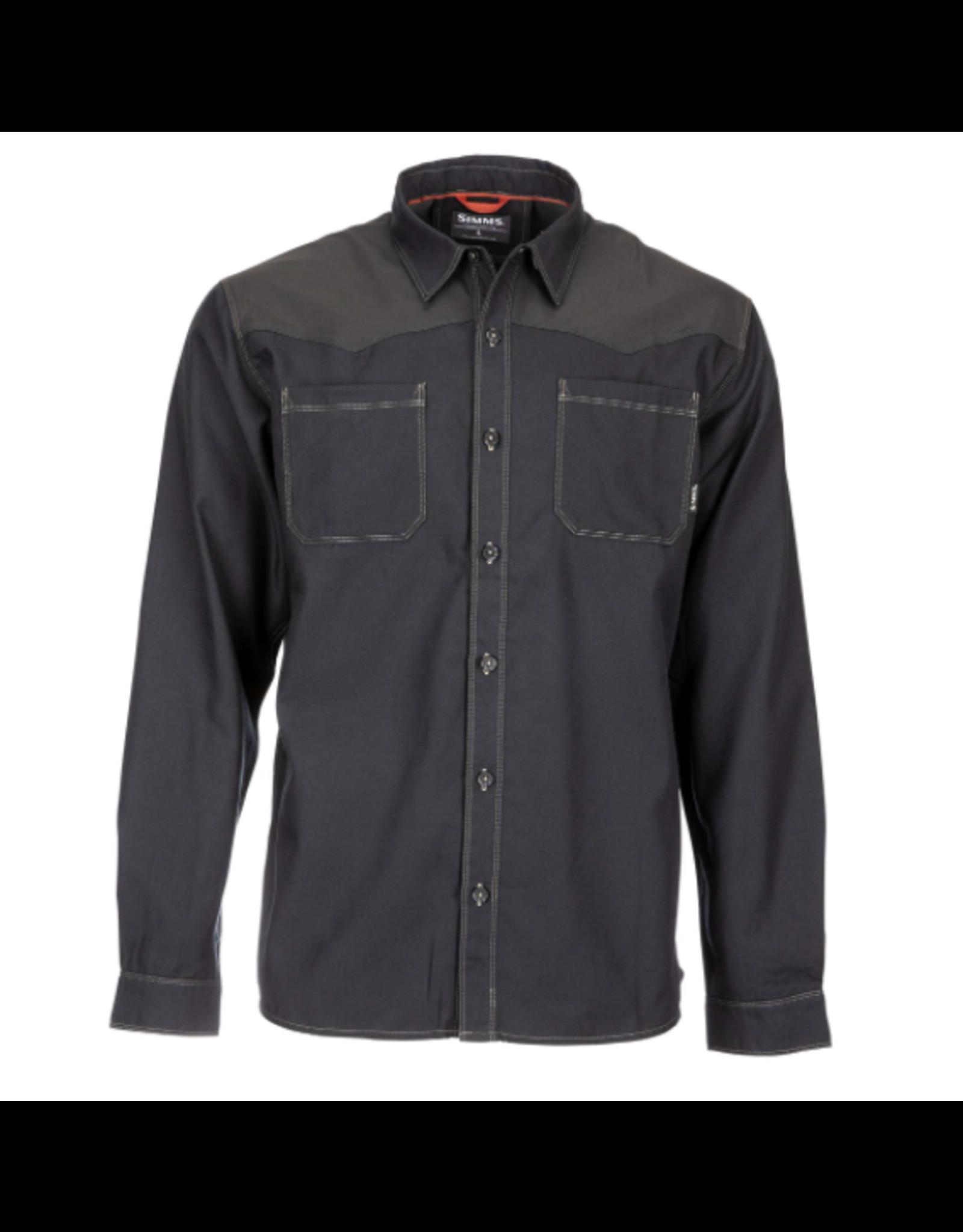 Simms SIMMS Black's Ford Flannel LS Shirt
