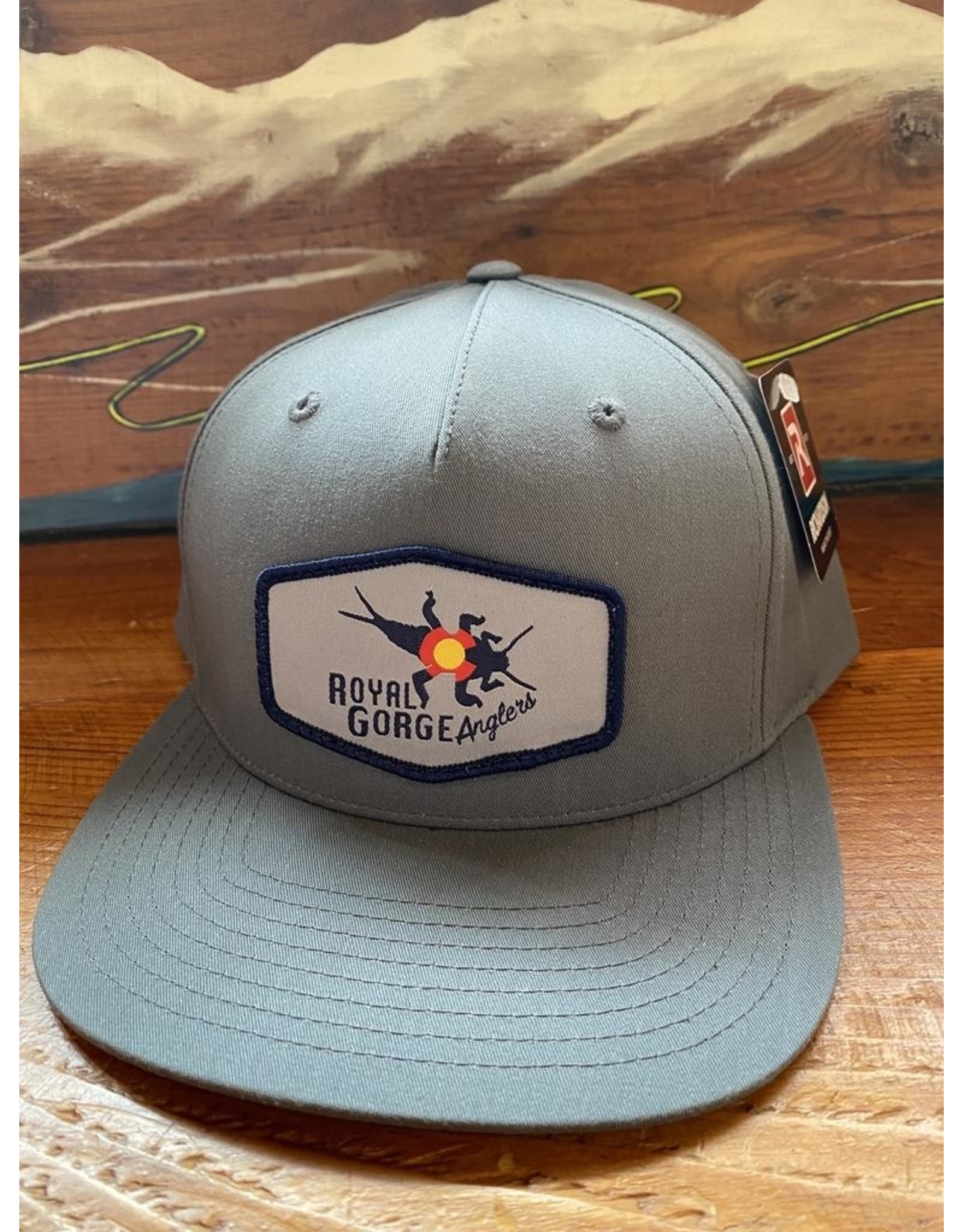 Richardson RGA Stonebug Patch Hat (Flint Grey)