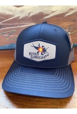 Richardson RGA Stonebug Patch Trucker (Navy/ Charcoal)