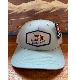 Richardson RGA Stonebug Trucker (Smoke Blue/ Aluminum)