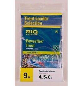 RIO Powerflex Trout Leader Selection