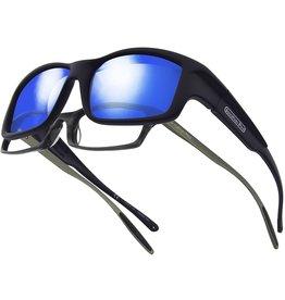Fitovers Jonathan Paul Fitovers Yamba Satin Black Blue Mirror