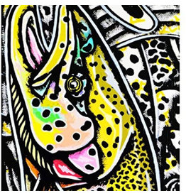 MFC MFC Fish Gaiter (Sun Mask) Estrada's Rainbow Graffiti