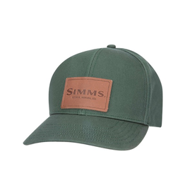 Simms Simms Leather Patch Cap (Foliage)