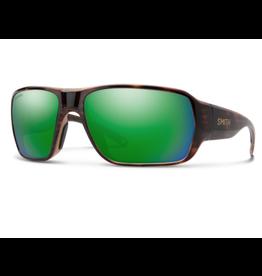 Smith SMITH Castaway (Tortoise Frame/ Chromapop Glass Polarized Green Mirror)