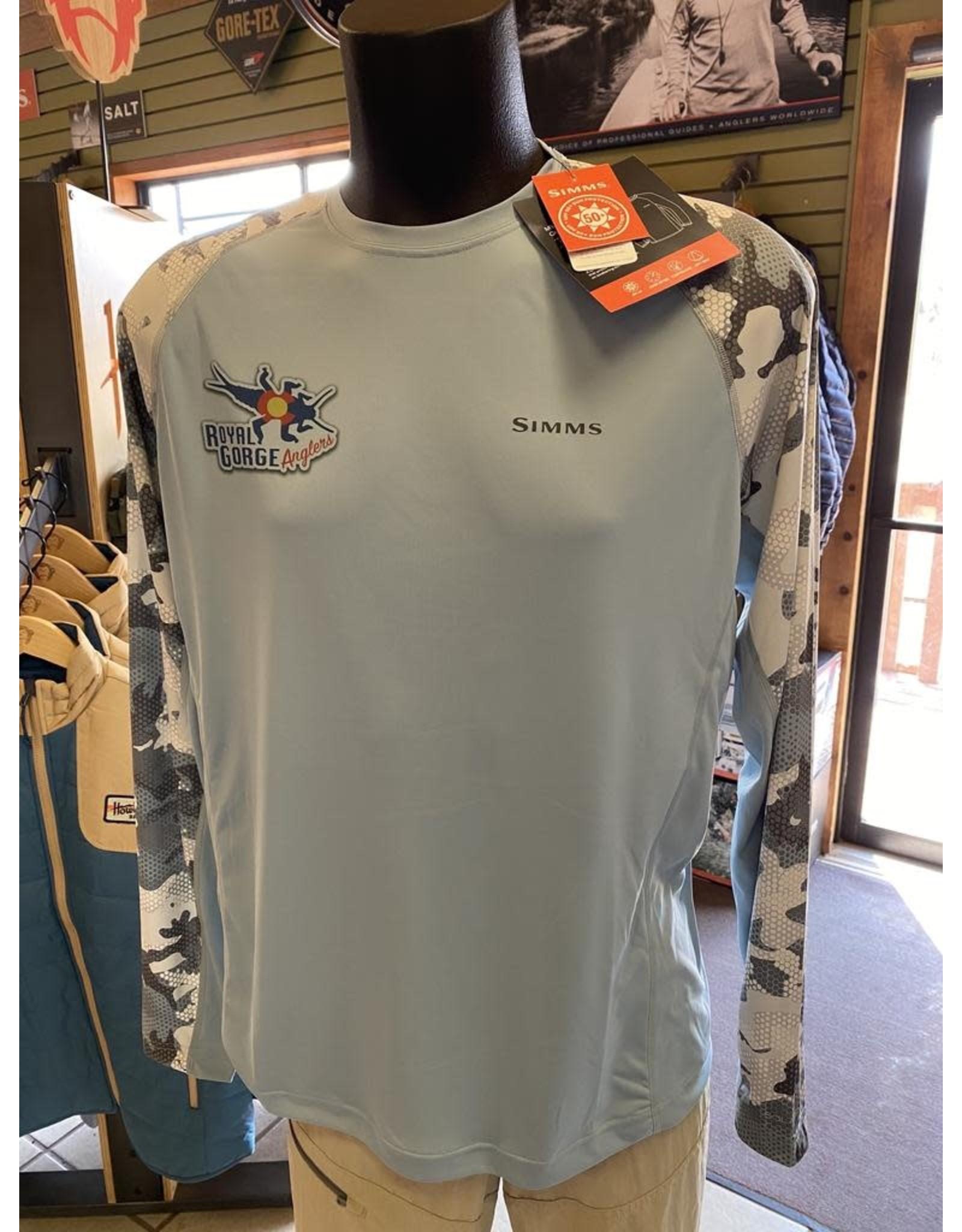 Simms SIMMS Solarflex Crewneck Shirt (RGA Logo)