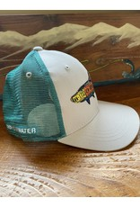 Rep Your Water Florida Tarpon License Plate Fish Trucker Hat (Rep Your Water/ Cody's Fish Collaboration)