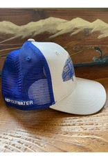 Rep Your Water Bahamas Permit License Plate Fish Trucker Hat (Rep Your Water/ Cody's Fish Collaboration)