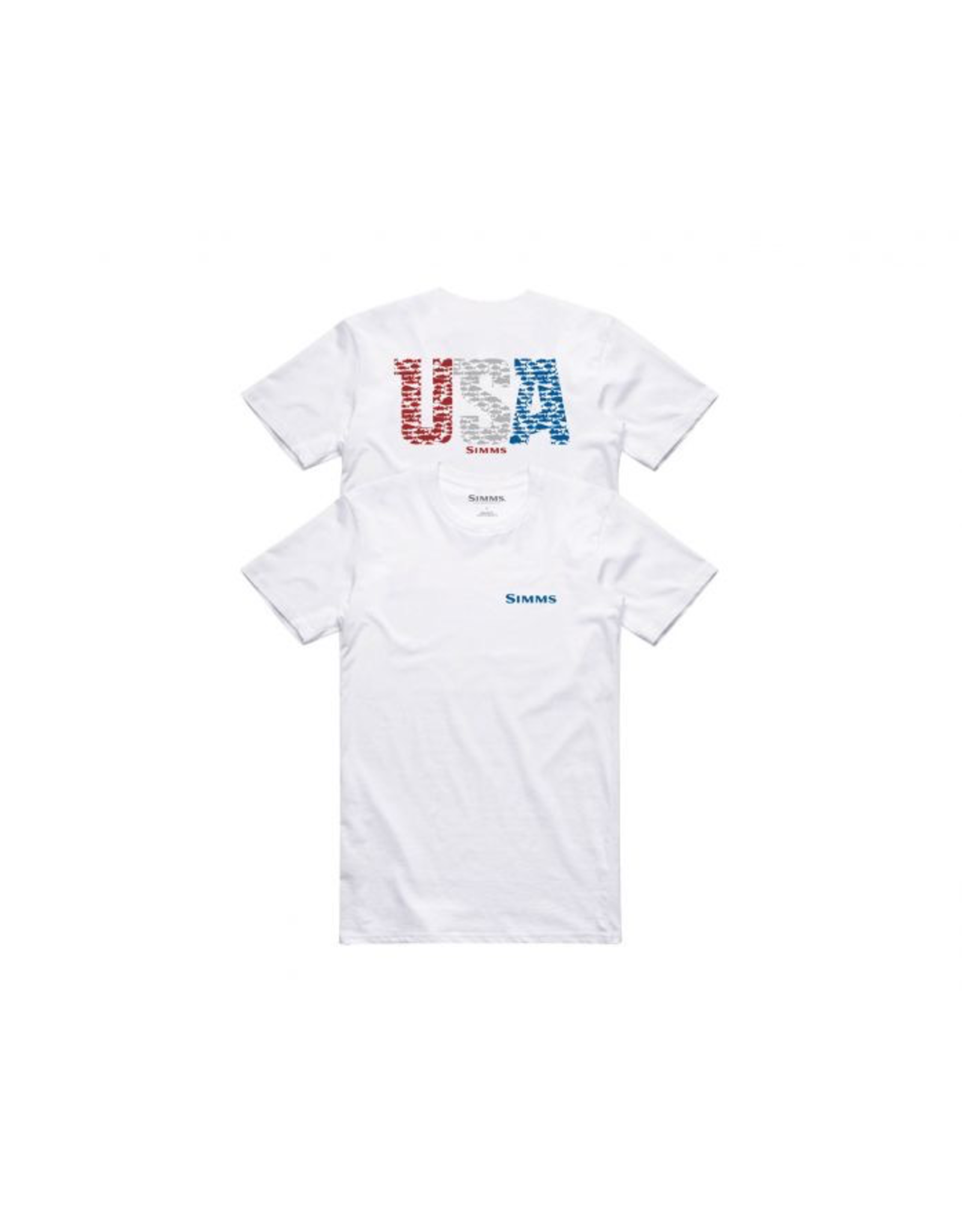 Simms Simms USA Species Tech SS T Shirt