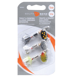 South Bend South Bend Classic Dressed Trout Spinners