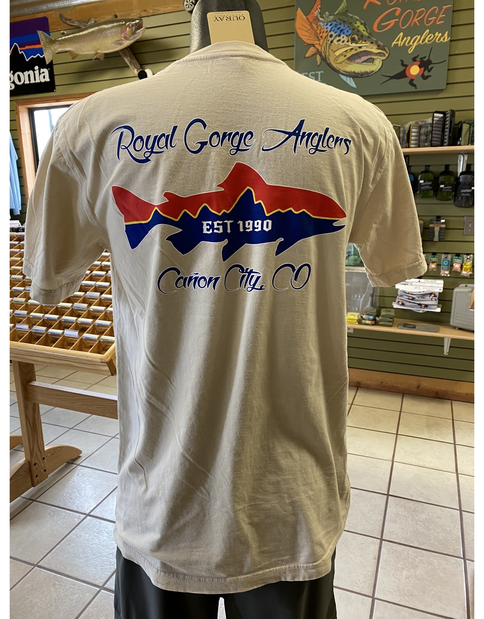 Ouray RGA Trout Skyline SS Tee