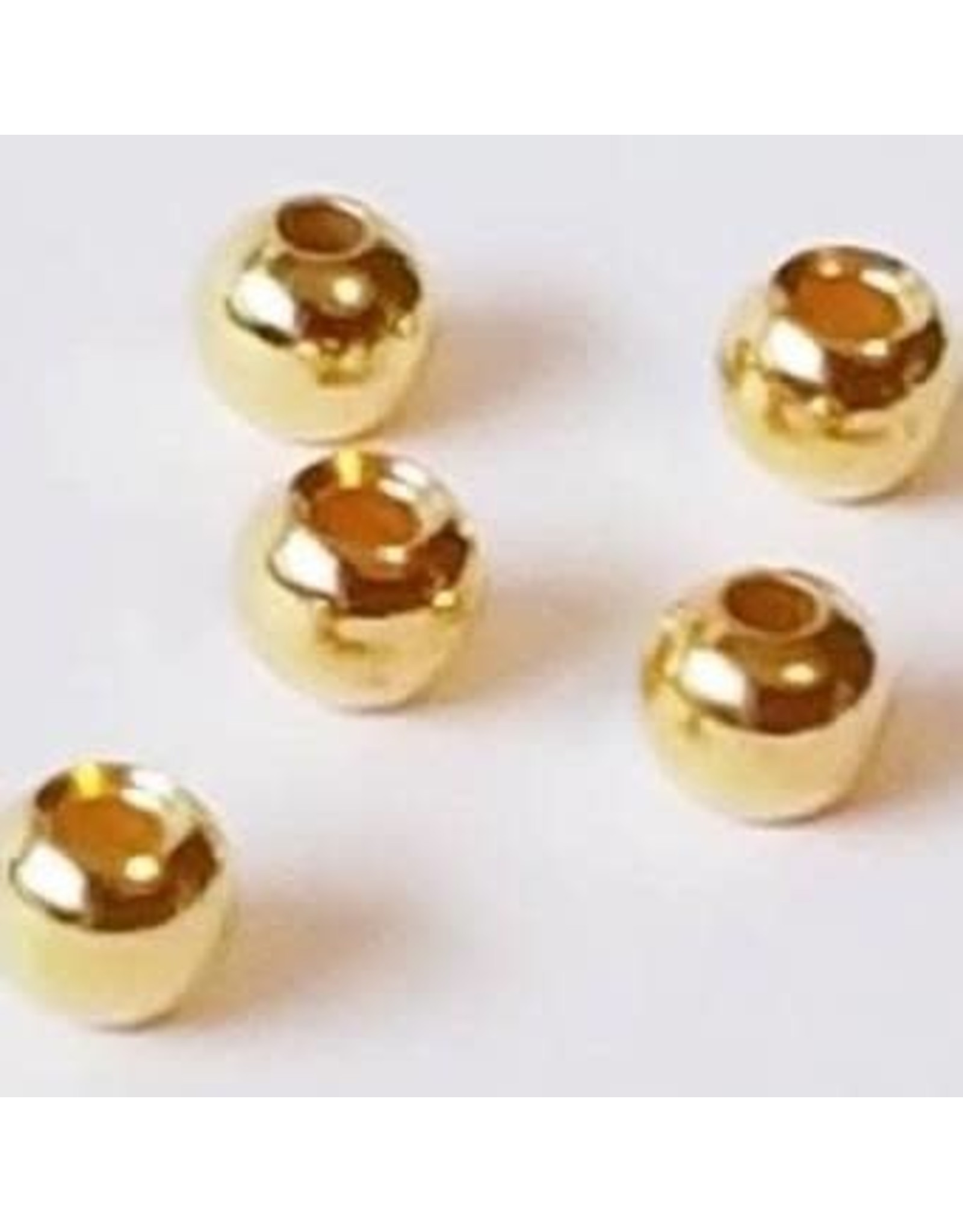 Umpqua Umpqua Counter Sunk Brass Beads Gold