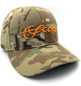 Scott Fly Rods Tactical Camo Hat