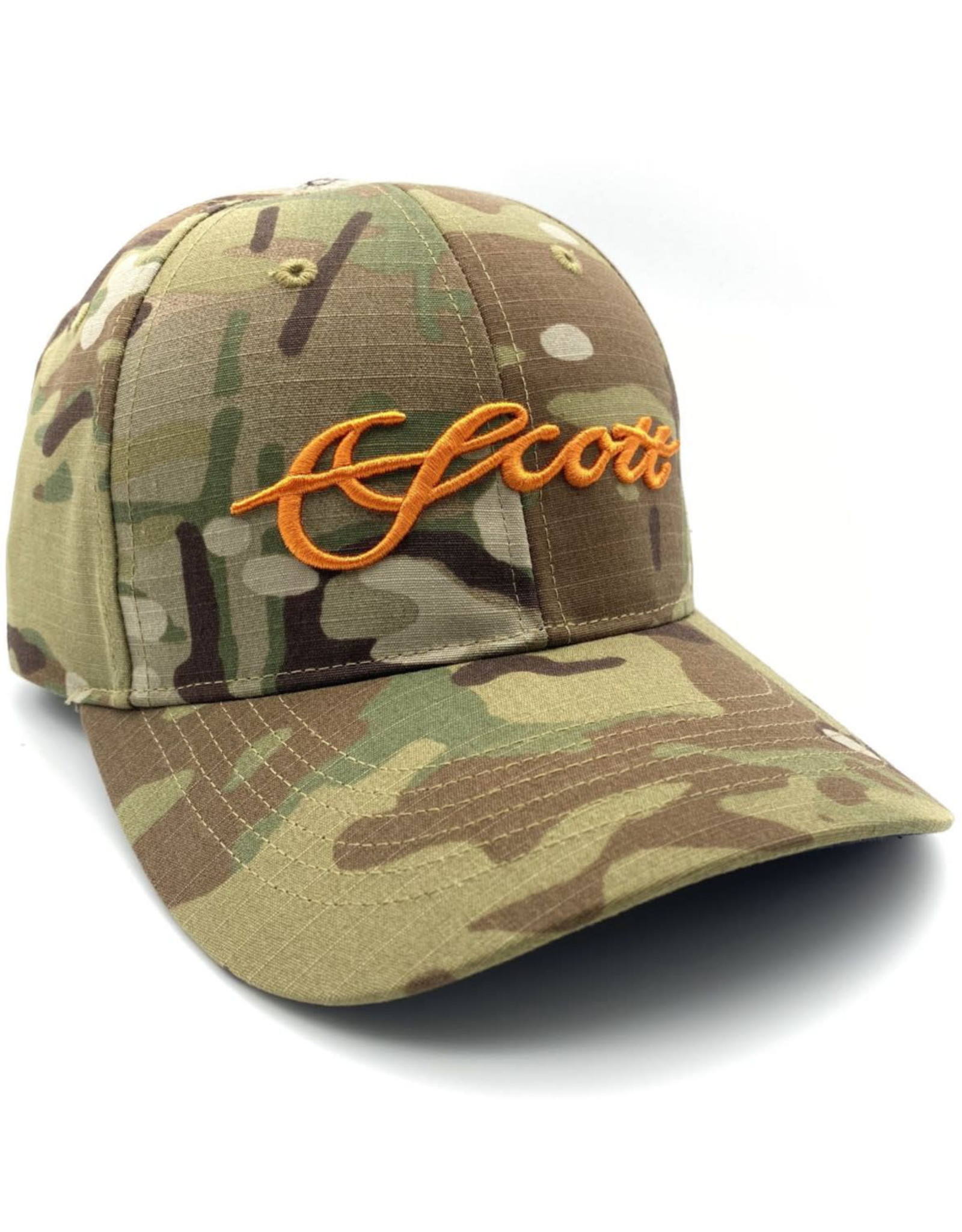 Scott Fly Rods Tactical Camo Hat