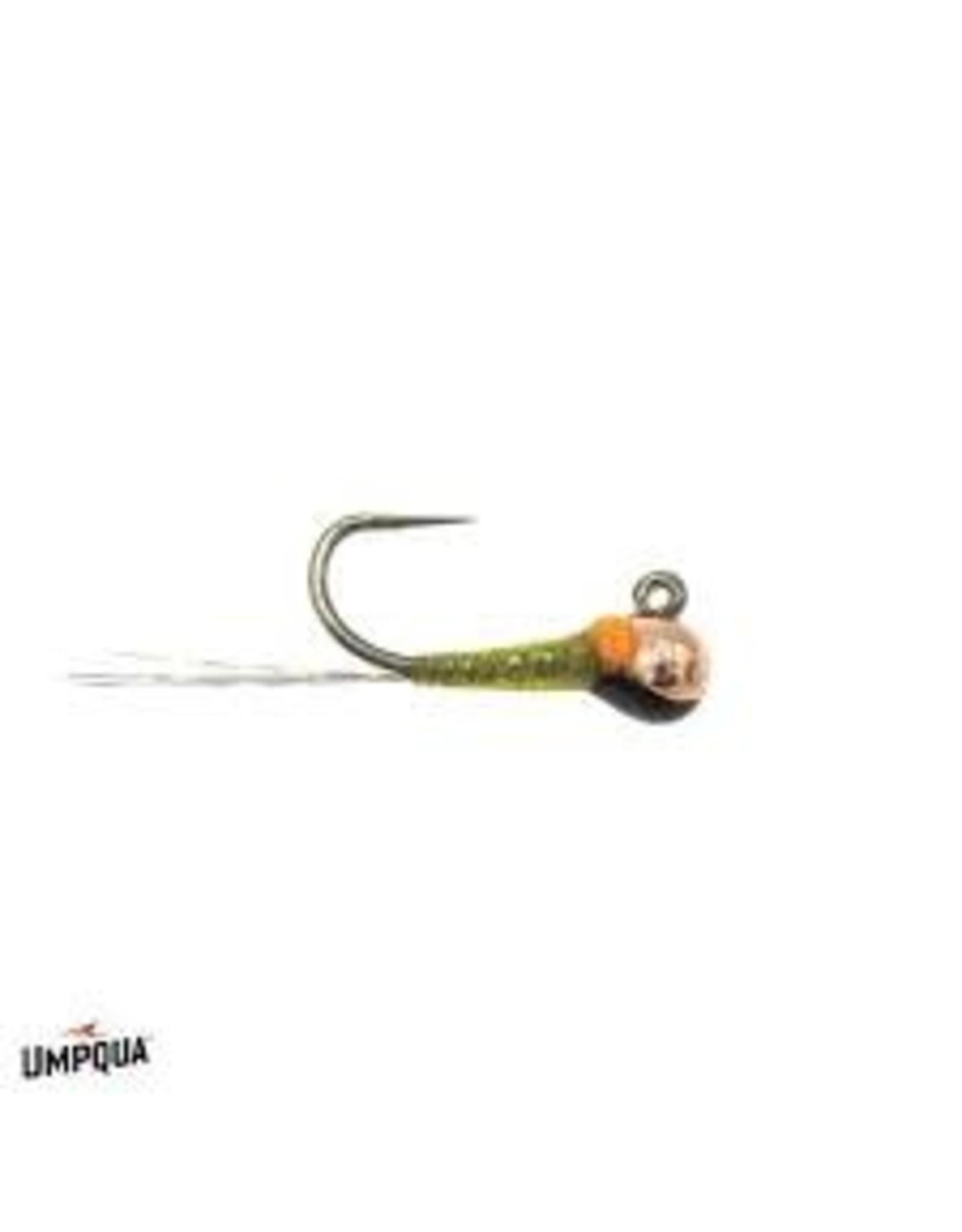 Umpqua Quill Bomb Olive 2.5    18