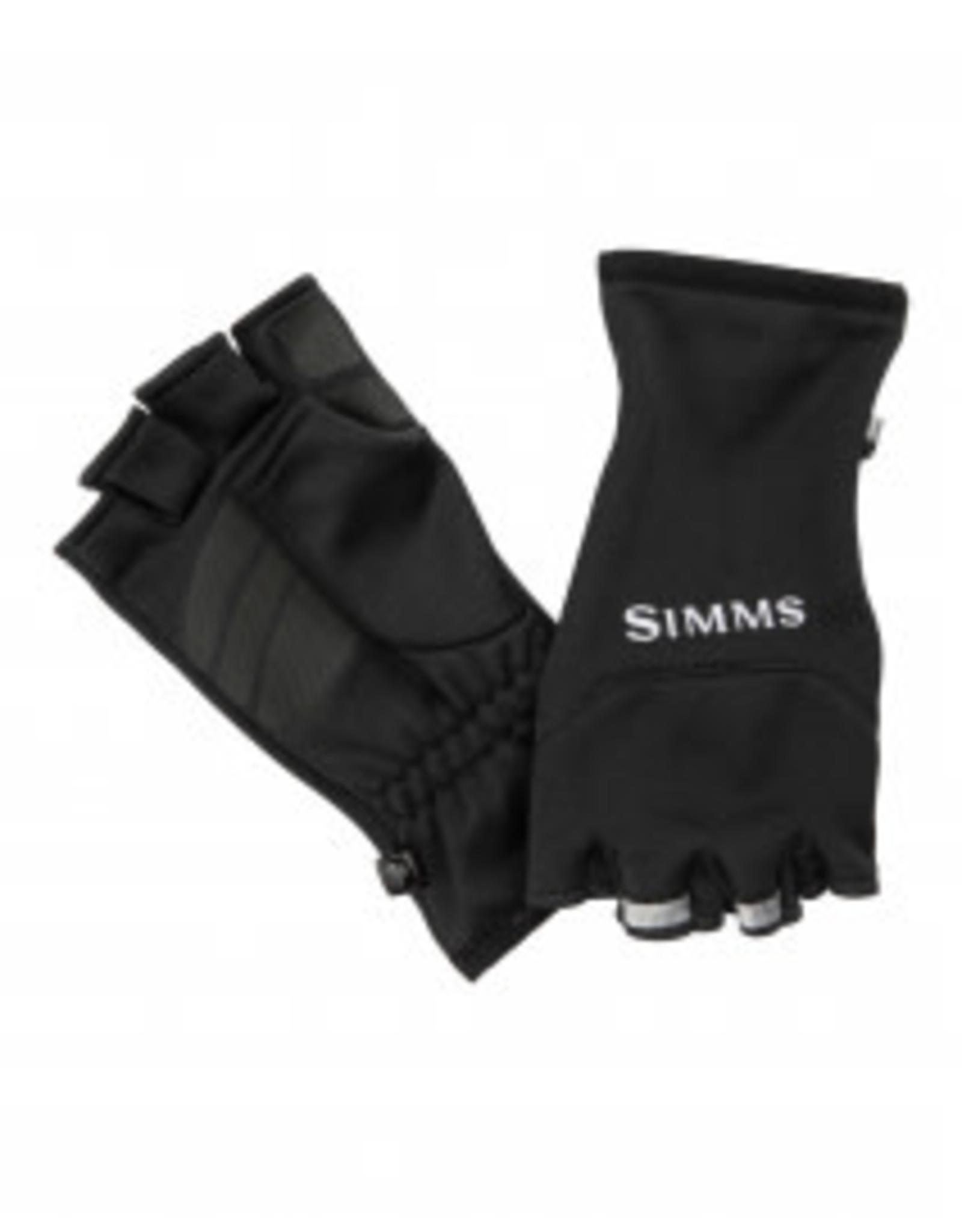 Simms Simms Freestone Half Finger Mitt Black