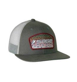 SAGE Patch Trucker (Rainbow Trout)