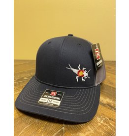 Richardson RGA Stonebug Lo-Pro Trucker (Navy/ Charcoal)