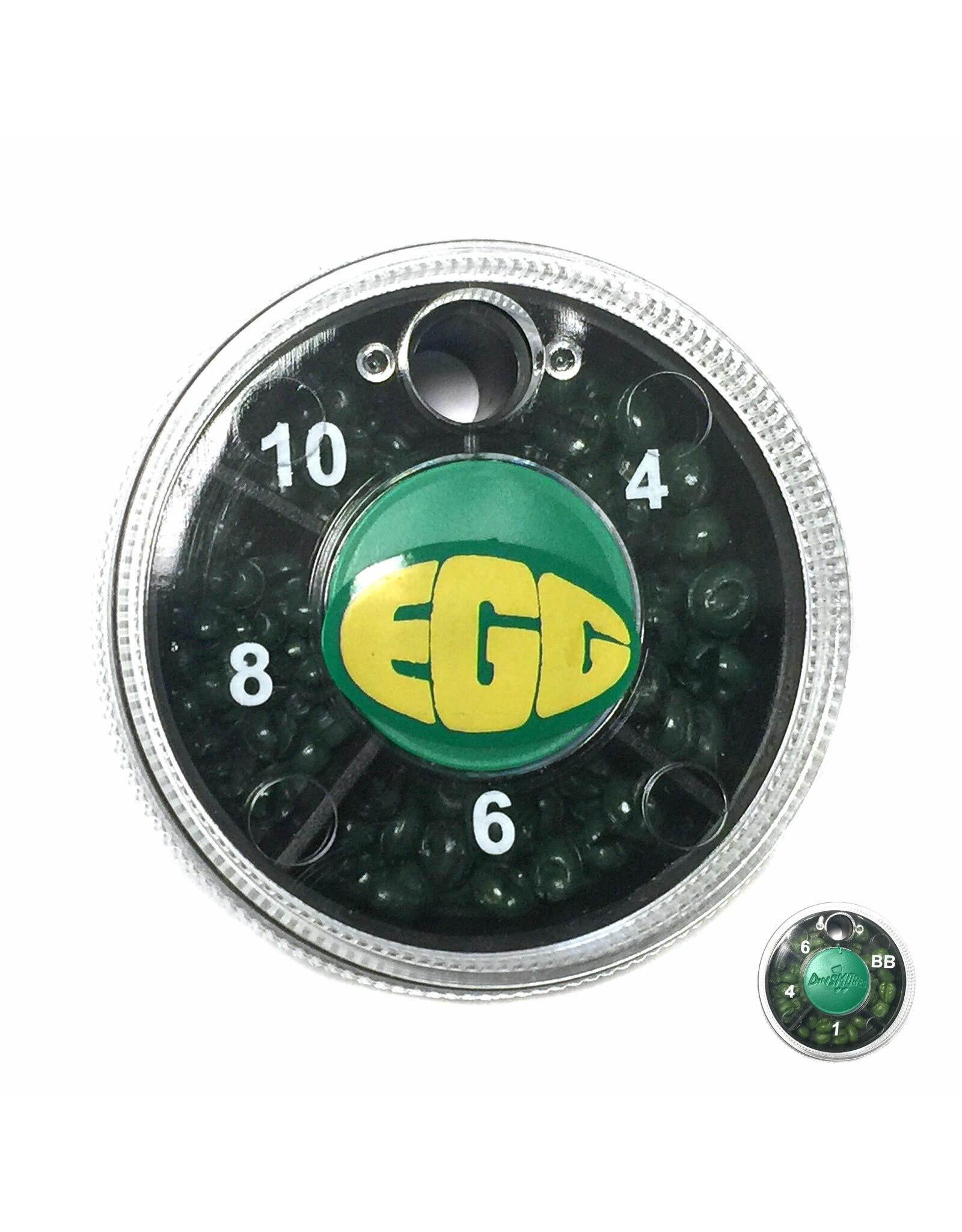 Dinsmore Dinsmore 4 Shot Tin Selector (Green Egg) Size 4-10