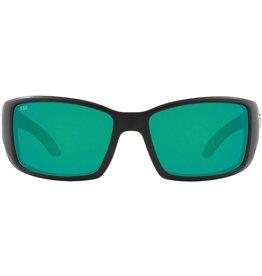 Costa del Mar COSTA Blackfin Pro- Matte Black (Green Mirror 580G)