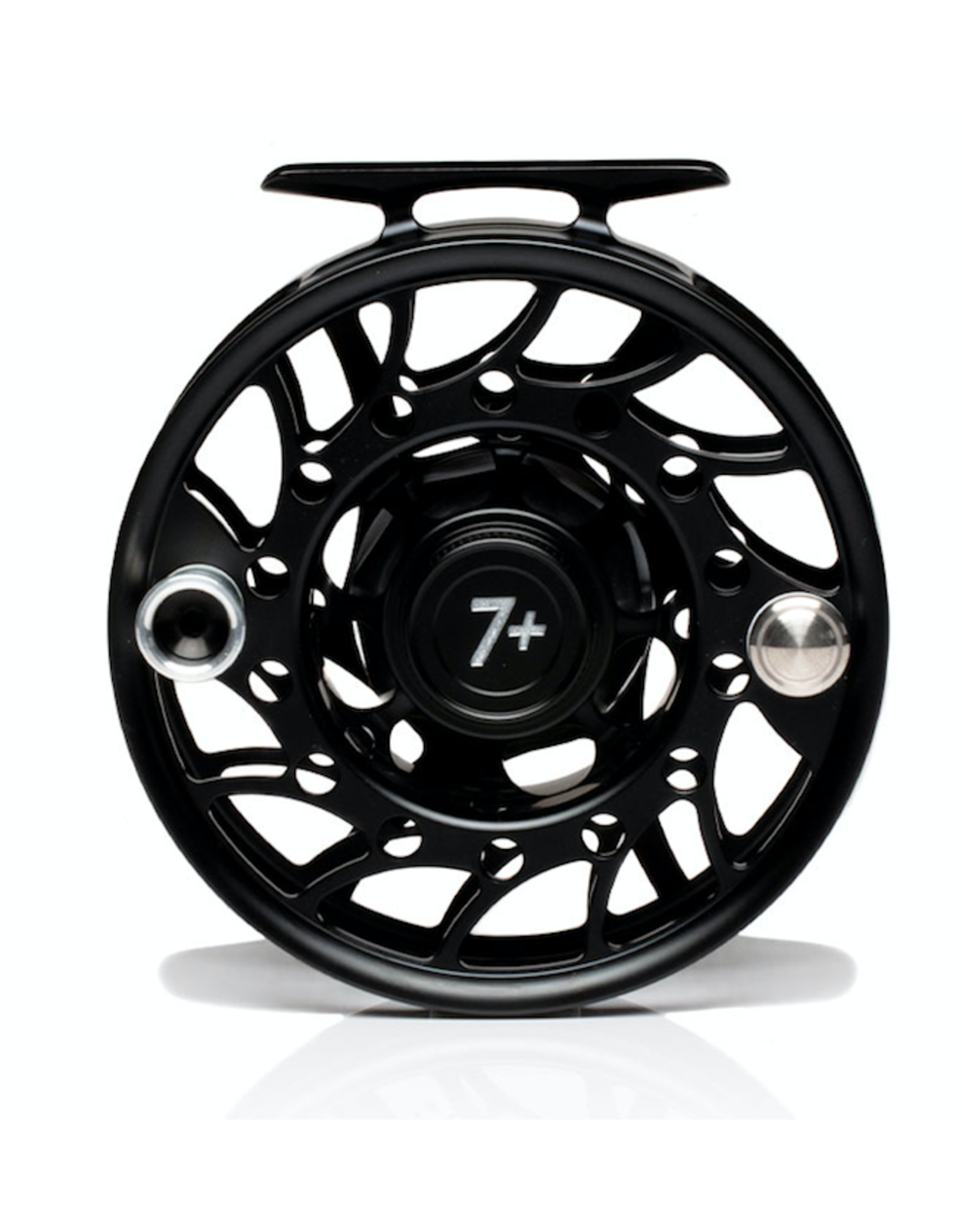 Hatch HATCH Iconic 7 Plus Reel (Black/ Silver) Mid Arbor