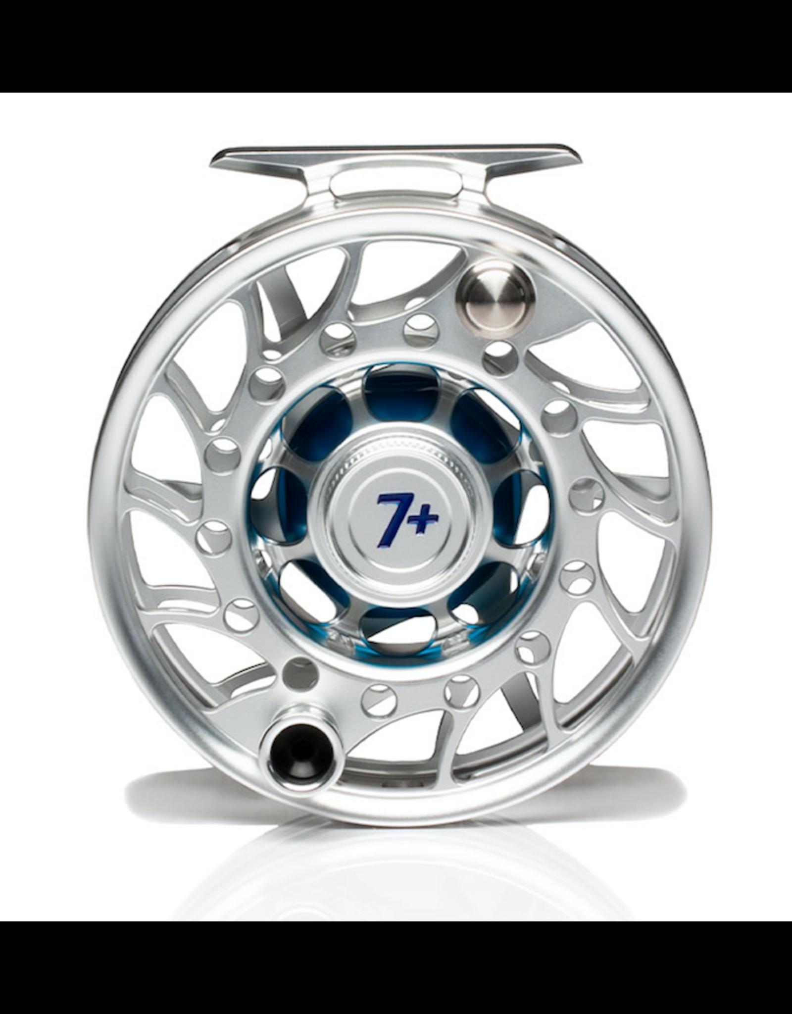 Hatch HATCH Iconic 7 Plus Reel (Clear/ Blue) Mid Arbor
