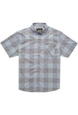Howler Airwave Garcia Gingham Steel Blue Shirt SS
