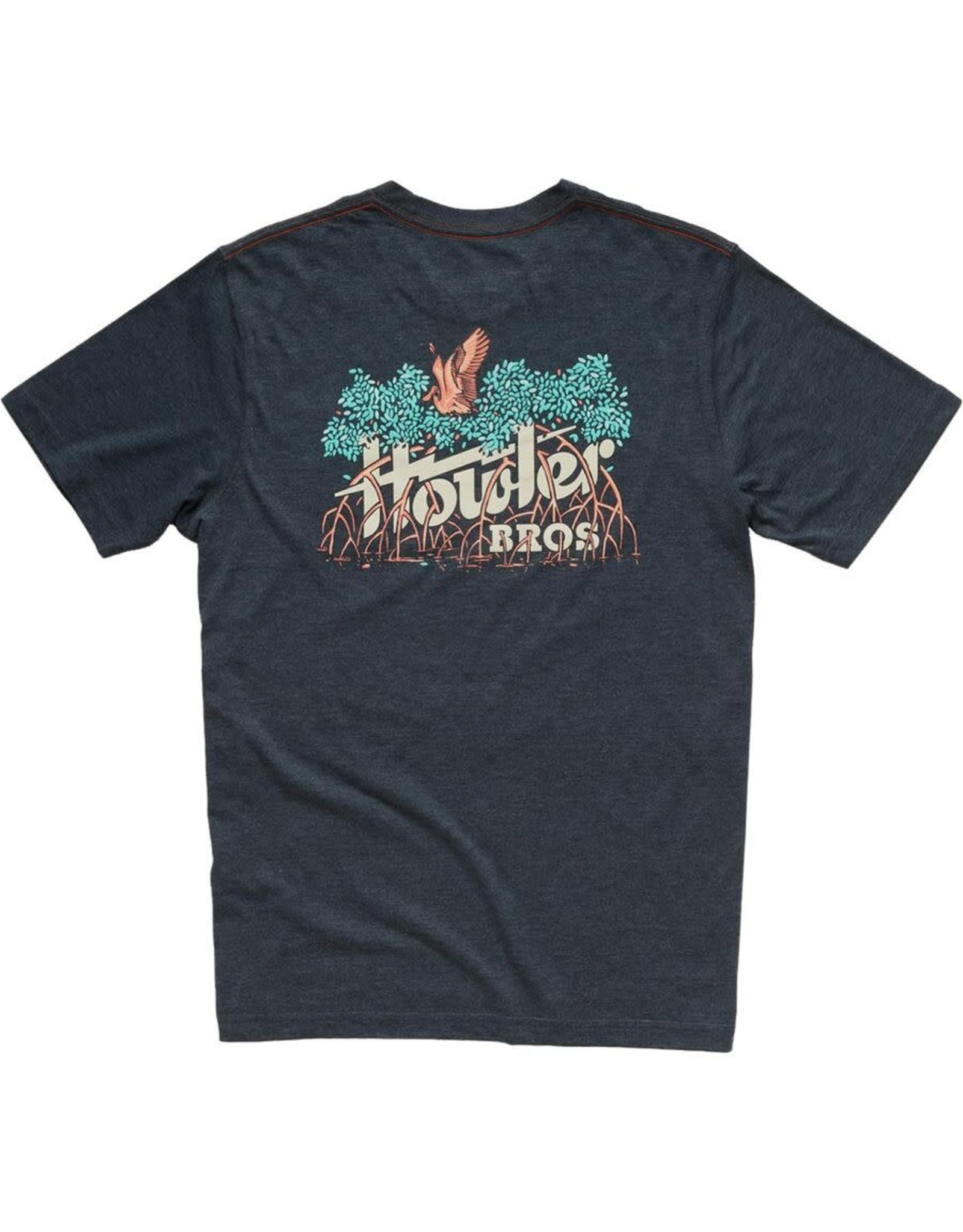 Howler Howler Electric Mangroves Tee Shirt Charcoal