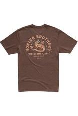 Howler Lazy Gator Tee Shirt Espresso