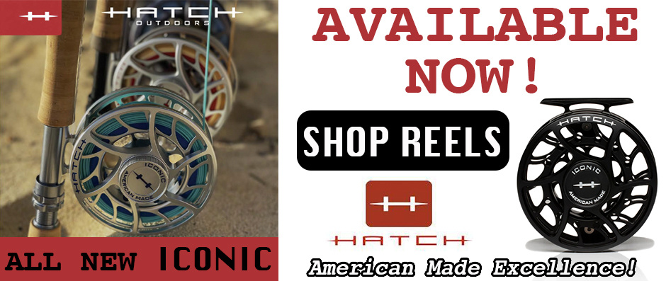 Hatch Iconic Fly Reel