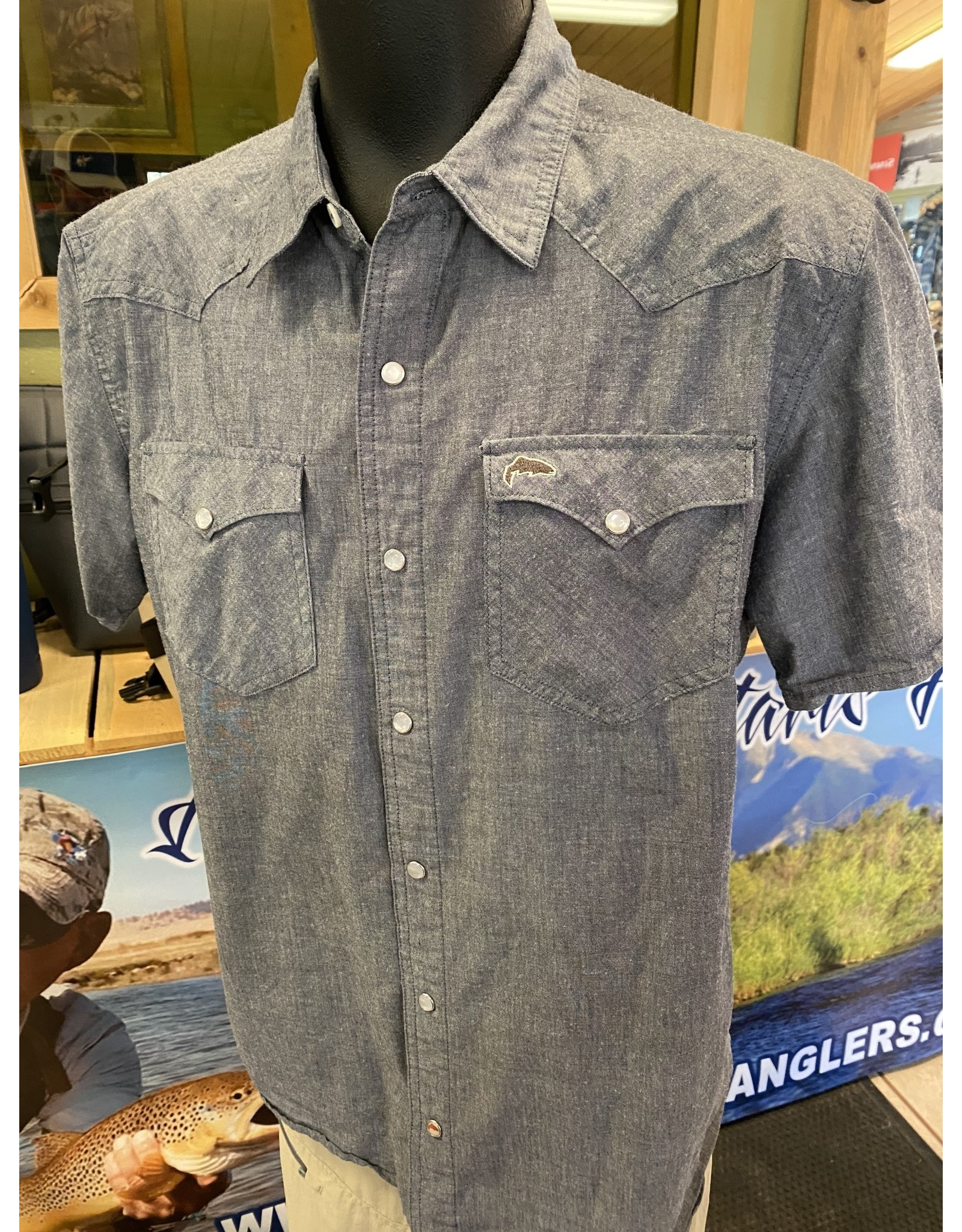 Simms SIMMS SS Western Shirt (SAMPLE SALE Size Large)