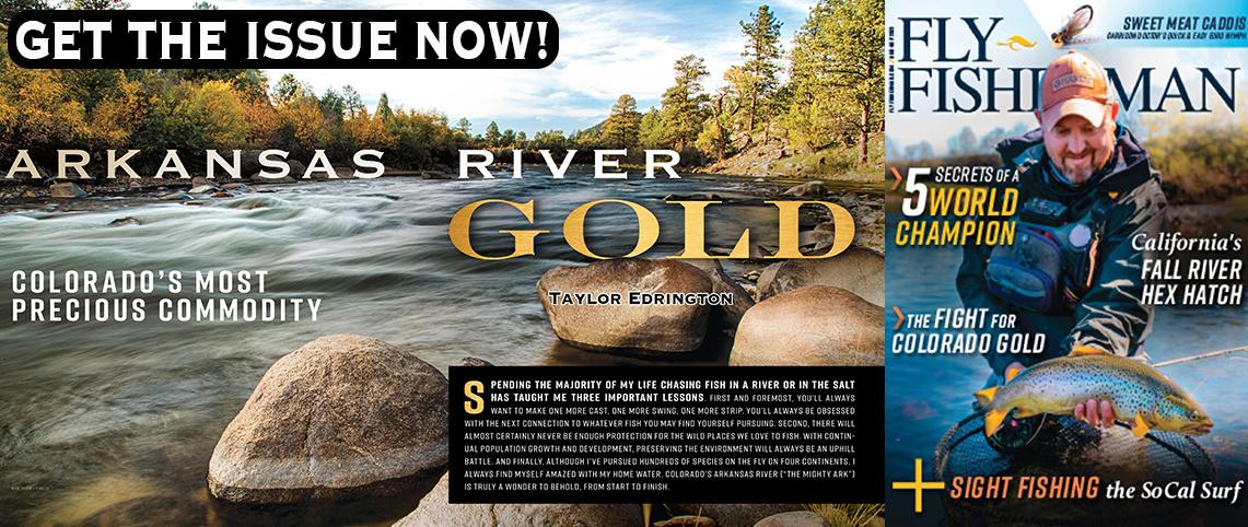 Fly Fisherman Magazine Arkansas River Fly Fishing