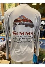 Simms RGA Logo SIMMS Solartech LS Tee (Troutscape)