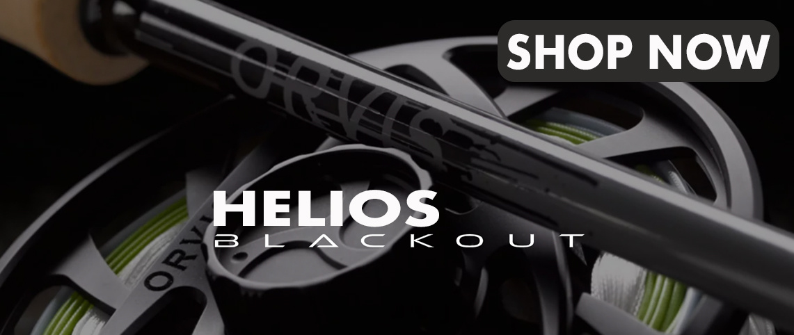 ORVIS Helios Blackout Fly Rod