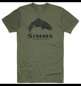 Simms Simms M's Wood Trout Fill T Shirt