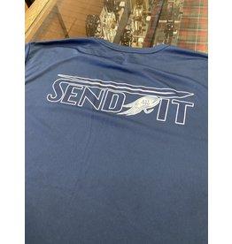 RGA Send It LS Performance Shirt (Navy) One Left Size Large