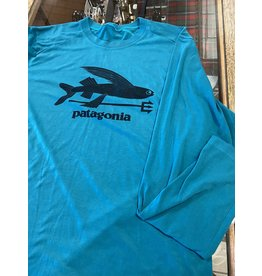 Patagonia Patagonia LW Capilene LS Shirt (Flying Fish) *Sample Sale Size Large