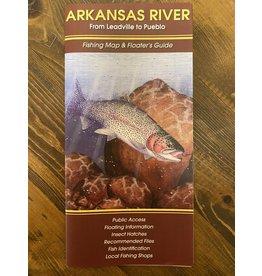 Shook Publishing NEW Arkansas River Fishing Map & Floater's Guide
