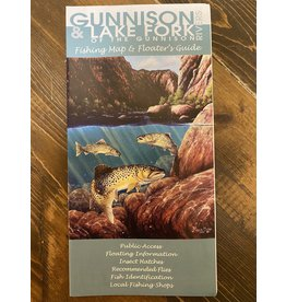 Shook Publishing Gunnison River Fishing Map & Floater's Guide