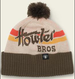 Howler Howler Disco Beanie (Brown/ White)