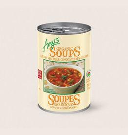 Amy's Kitchen Amy's Kitchen - Soupe En Conserve, Consistante aux Légumes Bio (398ml)