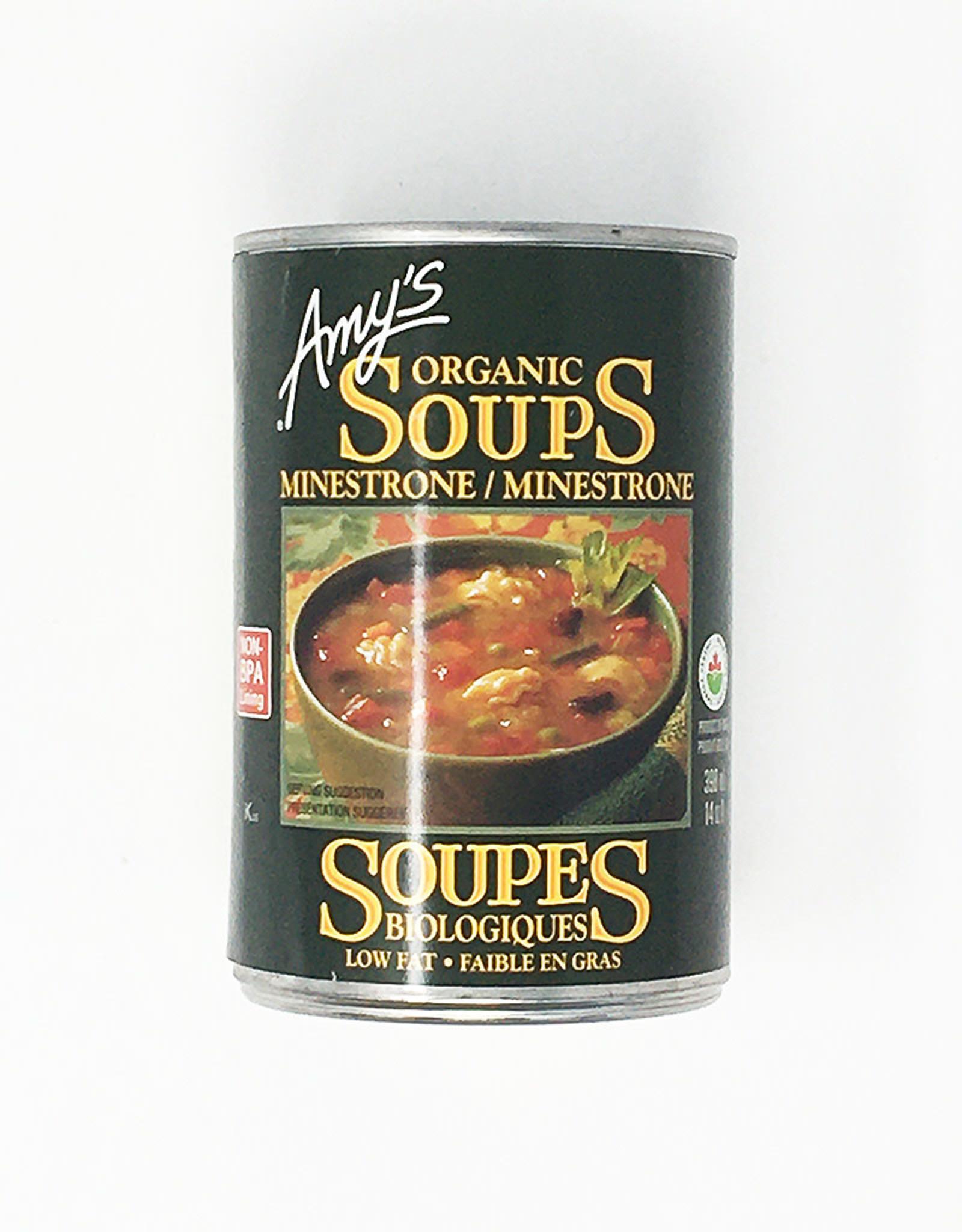 Amy's Kitchen Amy's Kitchen - Soupe En Conserve, Minestrone Bio (398ml)